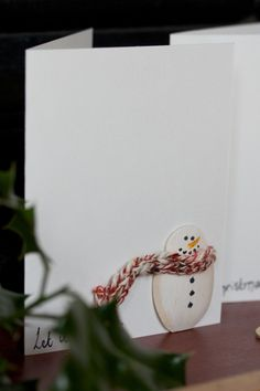 A gorgeous handmade christmas card made using by FurnitureMagpies, $4.00