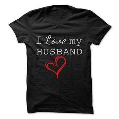 Black Shirt - I love my Husband