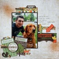 A Project by scrappeekim from our Scrapbooking Gallery originally submitted 09/01/12 at 11:57 AM