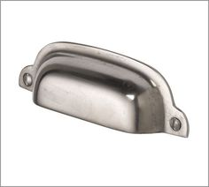 Classic Hardware | Pottery Barn Satin Nickel Finish Bin Pull 5 APPROVED FOR PURCHASE 7/13 per S.