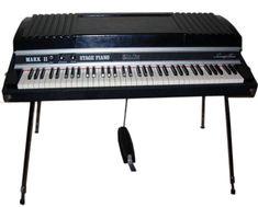 Piano Rhodes Mark II 73 - The Socialite Family Easy Guitar, Guitar Tips, Home Studio Setup, Studio Ideas, Jazz, Music Software, Electric Piano, E Piano, Upright Piano
