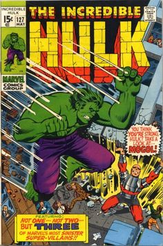 Cover for The Incredible Hulk (Marvel, 1968 series) #127