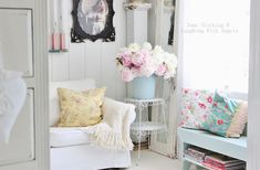 Perfect Shabby Chic Decor Ideas For Your Craft Room! - Heart Handmade uk