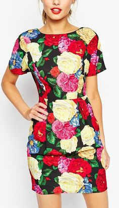 flower spring dress