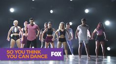 SO YOU THINK YOU CAN DANCE | Top 20 Group Performance | FOX BROADCASTING
