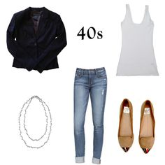 40s | Style At Any Age: !it Boyfriend Jeans | Taim Boutique
