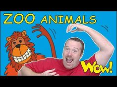Steve and Maggie are at the Zoo! They love going to the Zoo. But sometimes it's a bit tricky in the Zoo because you can't see all the animals. Zoo Animals For Kids, In The Zoo, Classroom Projects, Birthday Messages, Teaching Materials, Stories For Kids, Motivation, Stevia, Learn English