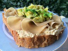 Panino mediterraneo con Hummus #vegan #hummus