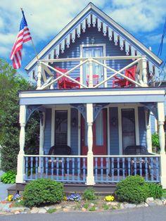 Gingerbread Cottage on Martha's Vineyard