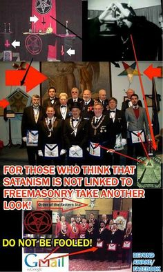 "For those who think that satanism is not linked to freemasonry take another look! Makes you go ""hmmmm"". Illuminati Conspiracy, Conspiracy Theories, Illuminati Symbols, Pastor Billy Graham, Babylon The Great, Freemasonry, New World Order, Satan, Occult"