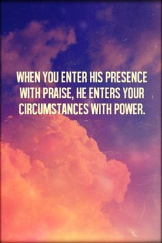 power for praise
