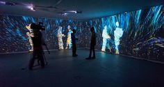 Quantum Space / interactive room