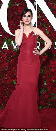 Bold and beautiful:Jessie Mueller, Leona Lewis andLena Hall showed off their flair for r...