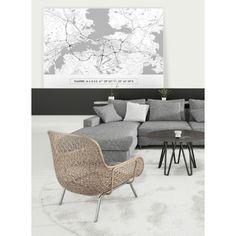 Akustiikkatuotteet - Graafiset karttatulosteet | art4u Cape Town, Amsterdam, San Francisco, Walls, Furniture, Home Decor, St Francis, Room Decor, Wands
