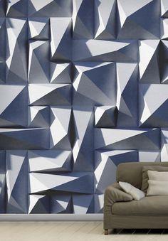 Motif wallpaper STUDS Materico Line by Wallpepper
