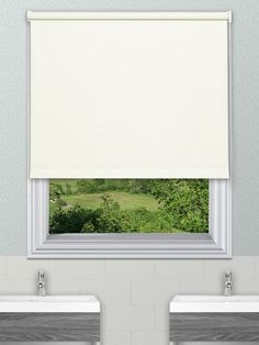 Unilux White Waterproof Blinds Our Pvc Roller Blind Fabric Is Available In 14 Plain Colours The Fabrics Are Very Easy To Wipe