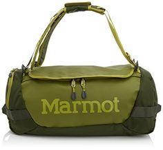 Marmot Unisex Long Hauler Duffle Bag - Small Moss Green G... Fitness 718ecba94c9c