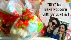 """DIY White Chcolate Popcorn for gifts """"NO BAKE"""""""