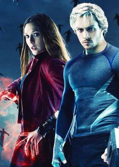 Scarlet Witch & Quicksilver, Avengers: Age of Ultron. The Avengers, Dc Movies, Marvel Movies, Elizabeth Olsen, Marvel Dc Comics, Marvel Heroes, Quicksilver Age Of Ultron, Wanda Marvel, Film Serie