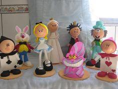 Decoração Alice No Pais Das Maravilhas Em E.v.a - R$ 290,00 no MercadoLivre