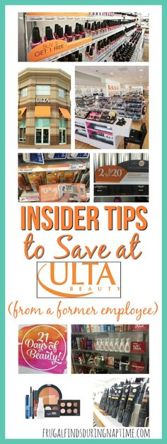 Learn how to save money at Ulta from a former employee who is revealing all the tips and tricks she learned while working there! Save Money On Groceries, Ways To Save Money, Money Tips, Money Saving Tips, How To Make Money, Grocery Savings Tips, Couponing For Beginners, Frugal Living Tips, Coupon Organization