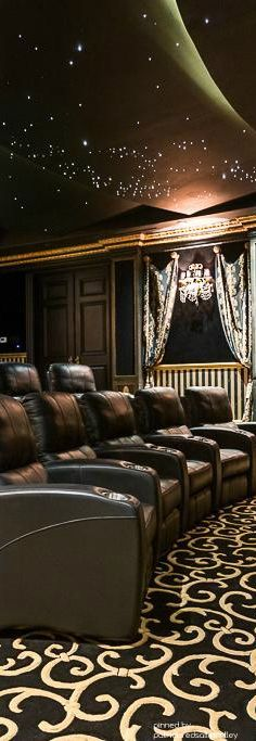 Home Theater, Man Cave Heaven, Media Room
