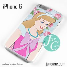 Cinderella Floral Classic NT Phone case for iPhone 6 and other iPhone devices
