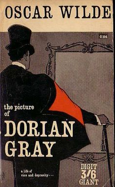 The Picture of Dorian Gray - a fabulous cover that lets you imagine what Dorian sees - or you see - in the mirror/your portrait