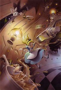 Alice in Wonderland - Drink Me - Sanda - Walt Disney Storybooks - World-Wide-Art.com