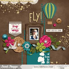 Fly by Meghan Mullens | Fuss Free: Hello Goodbye 2 by Fiddle-Dee-Dee