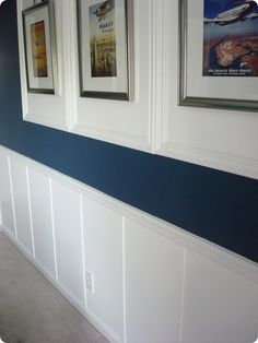 Thrifty Decor Chick: How to install board and batten