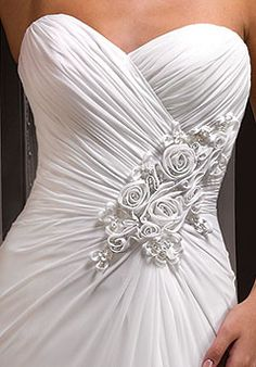 The top part of the slinky dress.