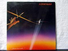 Supertramp - Famous Last Words. Glossy vinyl. 1982 vinyl LP 33 record album…