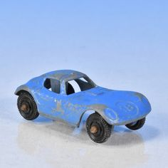 Chevy Cheetah Tootsietoy 1970's Blue race car number 18