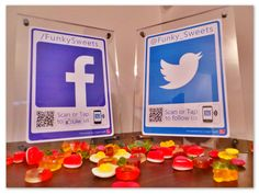Why not give your business a #socialmedia treat just like Funky Sweets did! #logotag #socialmediamarketing solutions.