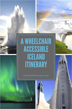 8 days may not be enough time to see everything in Iceland, but you can see all of the highlights. Here's an 8 day wheelchair accessible Iceland itinerary! Travel Europe Cheap, Backpacking Europe, European Destination, European Travel, Iceland Travel Tips, Island, Travel Information, Ireland Travel, 8 Days