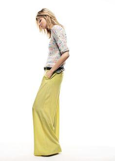 Magdalena Frackowiak for Mango Summer 2012 Lookbook