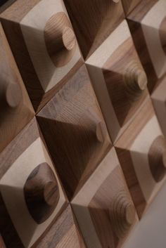 Wooden panels Prism Panels design: @juannybarcelo for YourFoRest Materials: oak, ash, maple, walnut, cherry Coating: oil