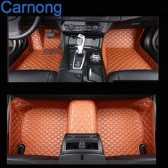car  mat leather auto carpets proper fit for BMW 745 LI full set custom front and rear mat left wheel driving car