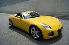 Pontiac : Solstice Convertible 2007