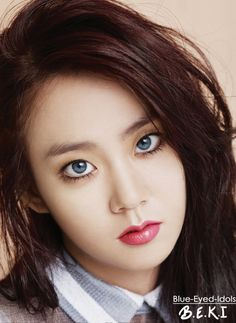 BLUE EYED K-POP IDOLS: #399  Han Seungyeon - KARA