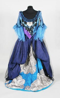 Costume for Queen of the Night as worn by Julia Dewhurst in 'The Magic Flute'.