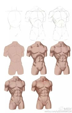 Digital Painting Tutorials, Digital Art Tutorial, Art Tutorials, Body Reference Drawing, Drawing Reference Poses, Digital Art Beginner, Body Drawing Tutorial, Anatomy Drawing, Human Anatomy Art