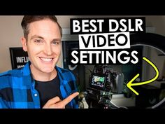 Canon 60D Settings for High Quality DSLR Video - YouTube