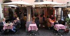 One of the best hosterias inCampo dei fiori , you can get the best amarticiana in town