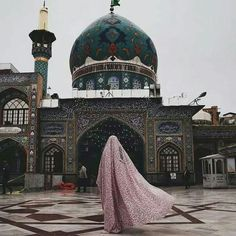 Image in Fantasy collection by nora_shaddad on We Heart It Muslim Hijab, Islam Muslim, Islamic Images, Islamic Pictures, Islamic Quotes, Niqab, Islamic Nasheed, Imam Hussain Wallpapers, Karbala Photography