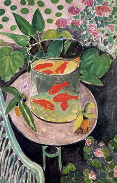Henri Matisse, Red Fish.  Arguably one of my favorite pieces of art ever