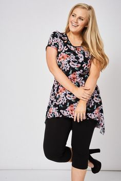 Dipped hem tunic top with cut out detail:) http://www.firstcouturefashion.co.uk/#a_aid=Fornalski2