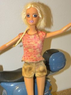 Her face needs scabs, and her body is too clean.   Meth Lab Barbie