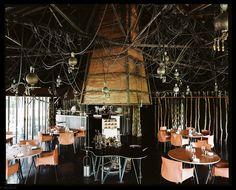 Intérieur du restaurant La Grenouillère Alexandre Gauthier